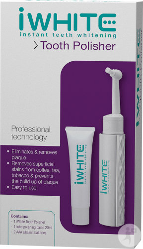 IWhite Instant Teeth Whitening Zahnpolierer 1 Set