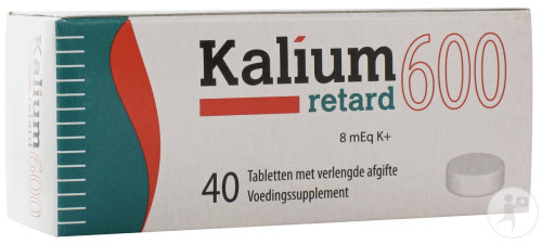 Kalium Retard 600 Tabletten 40