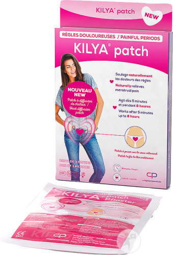 Kilya Painful Periods 3 Patches