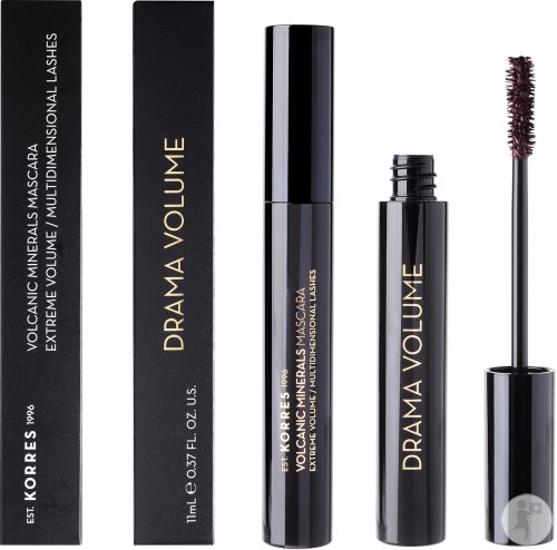 Korres Mascara Drama Volume (02) Plum Brown 11ml