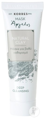 Korres Natural Clay Deep Cleansing Mask Reinigungsmaske Naturton Tube 18ml