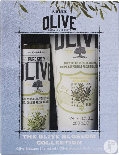 Korres The Olive Blossom Collection : Duschgel 250ml + Körpermilch 200ml