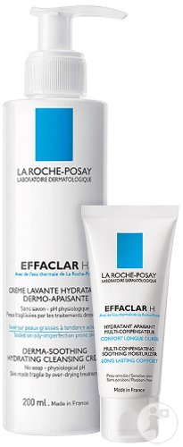 La Roche-Posay Effaclar Anti-Acne And Anti-Drying Routine 1 set