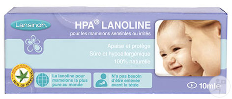 Lansinoh HPA Lanolin Brustwarzensalbe Tube 10ml (425200)