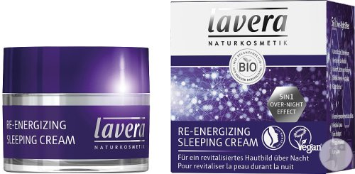 Lavera Re-Energizing Sleeping Cream Bio Tiegel 50ml
