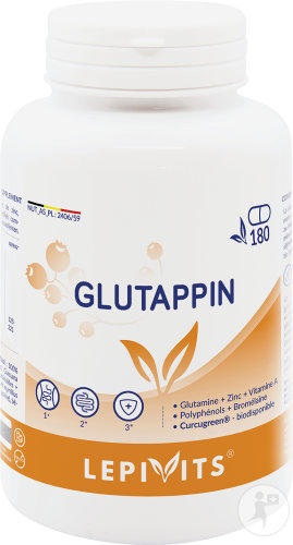 Leppin Glutappin Pot Caps 180 Nf