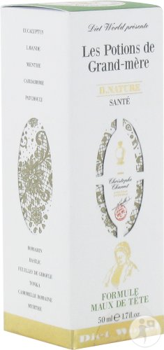 Les Potions Grand Mere Maux Tete Spray 50ml