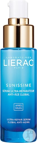 Lierac Sunissime After-Sun Reparierendes Sos-Serum Globales Anti-Aging Gesicht Pumpflakon 30ml