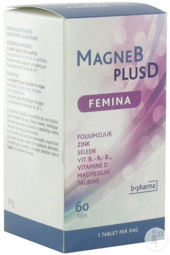 Magne B Plus D Femina 60 Tabletten