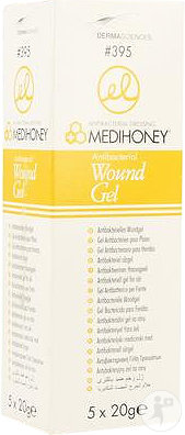 Medihoney Antibakterielles Wundgel Tube 5x20g