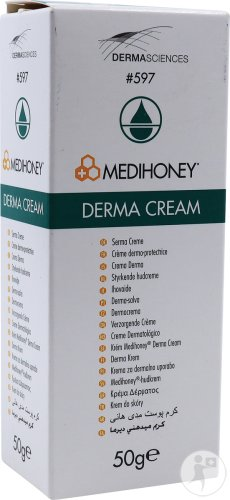 Medihoney DermaSciences Derma Creme Für Pflegende Hautcreme Tube 50g