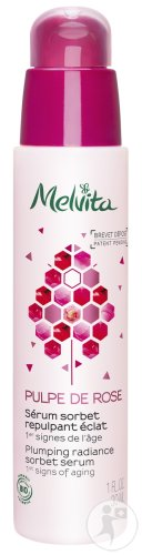 Melvita Pulpe De Rose Plumping Radiance Serum Bio Pumpflakon 30ml