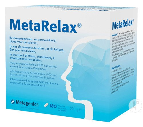 Metagenics MetaRelax 180 Tabletten