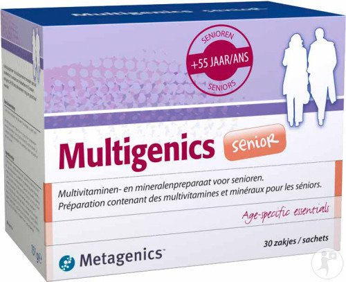 Metagenics Multigenics Senior 30 Beuteln