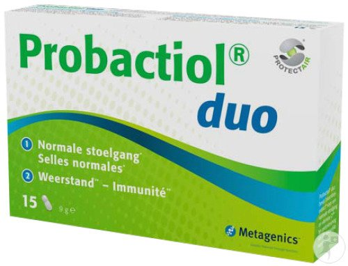 Metagenics Probactiol Duo 15 Kapseln