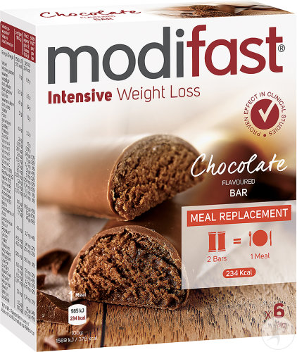 Modifast Weight Loss Riegel Schokoladengeschmack 6x31g