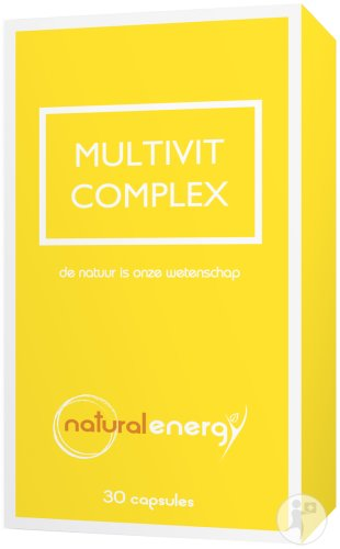 Natural Energy Multivit Komplex 30 Kapseln