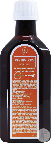 Natural Energy Respir-low Siroop 250ml