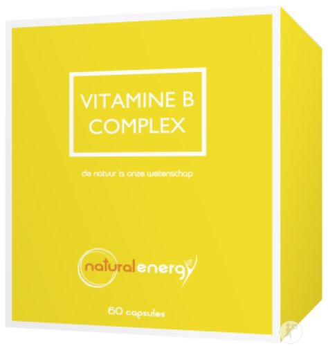 Natural Energy Vitamin B-Komplex 60 Kapseln