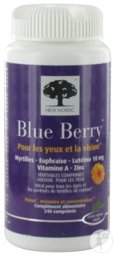 New Nordic Blue Berry Eyebright 240 Tabletten