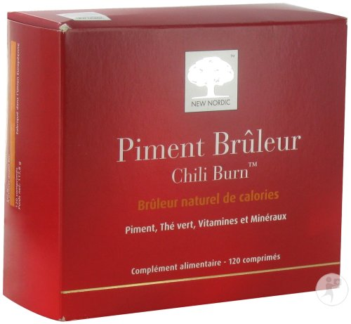 New Nordic Piment Brûleur 120 Tabletten