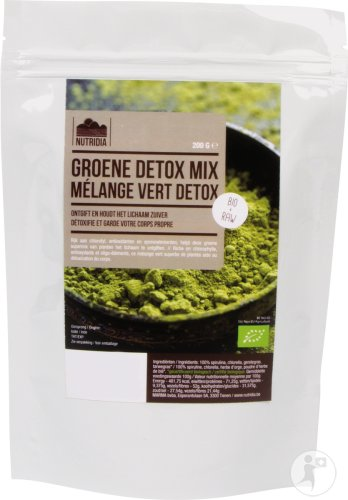 Nutridia Green Detox Mix Bio 200g