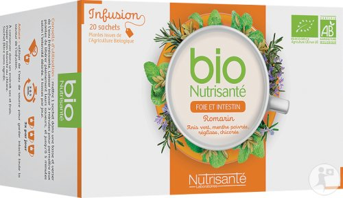 Nutrisanté Bio Liver And Darm Herbal Tea 20 Bags