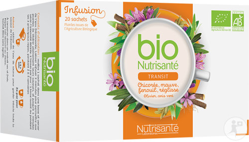 Nutrisanté Transit Herbal Tea 20 Bags