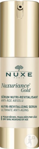 Nuxe Nuxuriance Gold Anti-Aging-Intensivpflegeserum Altersbedingte Beanspruchte Haut Pumpflakon 30ml
