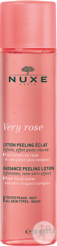 Nuxe Very Rose Radiance Peeling Lotion Flasche 150ml