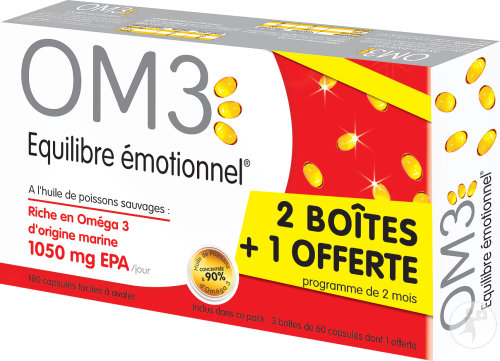 Om3 Classic Pack Emotionel Evenwicht Caps 3x60