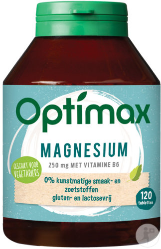 Optimax Magnesium 120 Tabletten 250 mg