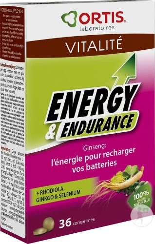 Ortis Energy & Endurance 2x18 Tabletten