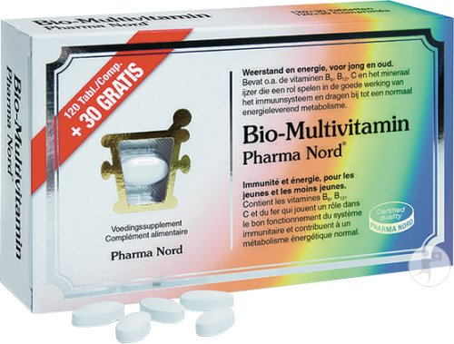 Pharma Nord Bio-Multivitamin 120 Tabletten + 30 Promo