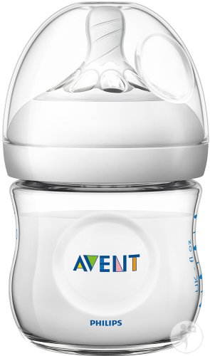 Philips Avent Naturnah-Babyflasche 125ml Transparent 0+ Monate 1 Stück