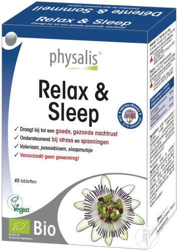 Physalis Relax & Sleep Bio 45 Tabletten Neu