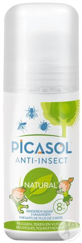 Picasol Anti-Insect Natural Kids Roll-On 50ml