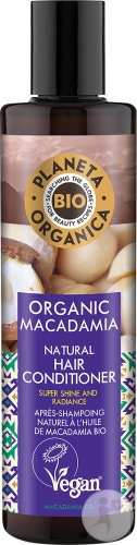Planeta Organica Macadamia Hair Conditioner 280ml