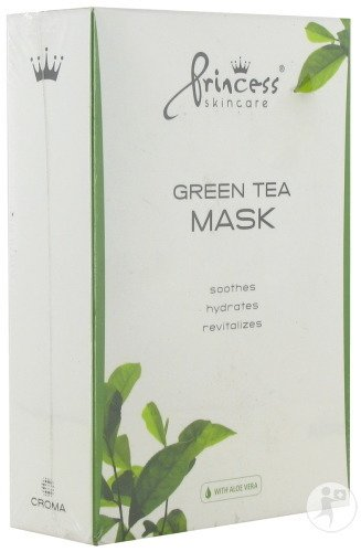Princess Skin Care Green Tea Maske 8 Expresslieferung