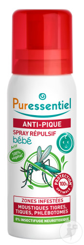 Puressentiel Anti-Stich Abwehrspray Für Kinder Flakon 60ml
