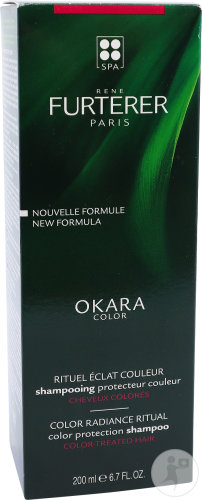 René Furterer Okara Color Farbschutz-Shampoo Tube 200ml