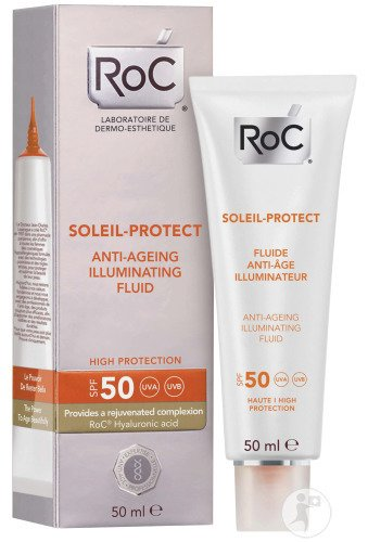RoC Soleil-Protect Anti-Aging Fluid SPF50 Tube 50ml