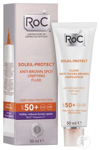 RoC Soleil-Protect Anti-Pigmentflecken Fluid SPF50+ Tube 50ml