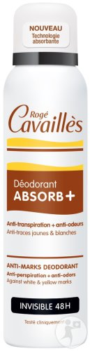 Rogé Cavaillès Deodorant Absorb+ Invisible 48h Gegen Flecken Spray 150ml