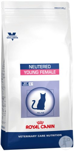 Royal Canin Veterinary Care Nutrition Katze Neutered Young Female Katze Trockenfutter 10kg