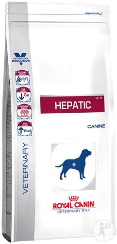 Royal Canin Veterinary Diet Hund Hepatic HF16 Canine Trockenfutter 1,5kg