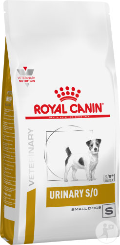 Royal Canin Veterinary Diet Hund Urinary S/O Small Dog USD20 Trockenfutter 8kg