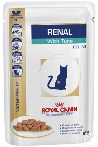 royal canin veterinary diet katze renal support thunfisch frischebeutel 85g expresslieferung. Black Bedroom Furniture Sets. Home Design Ideas