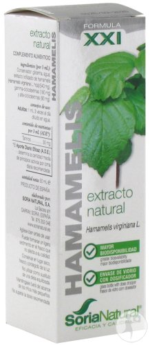 Soria Natural Hamamelis Virginiana XXI 50ml
