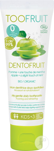 Toofruit Dentofruit Tandpasta Appel Munt 50ml